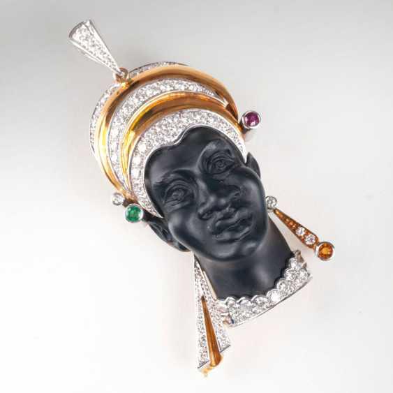 Moretto pendant with brilliant trim. - photo 1