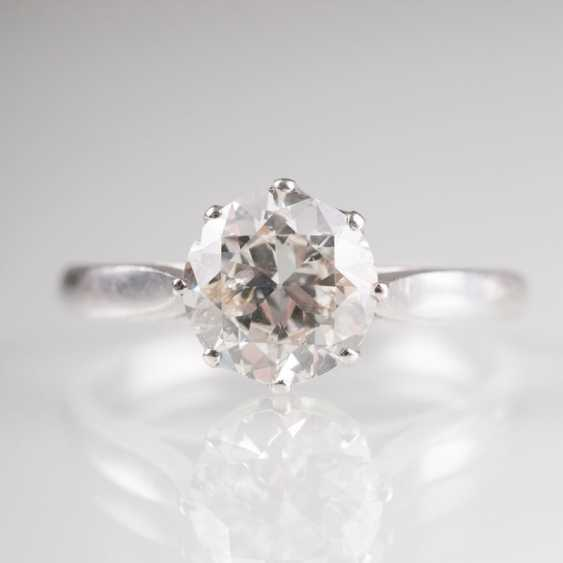 Solitaire Ring from the jeweller Osthues. - photo 1