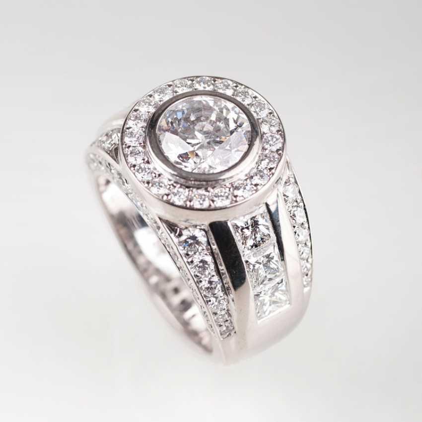 High-Powered Ring Brilliant Diamond. - photo 1