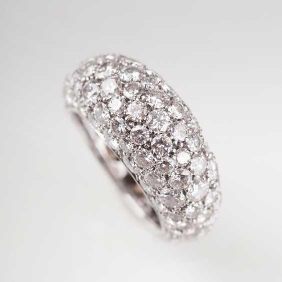 Fine, high-class diamond Ring. - photo 1