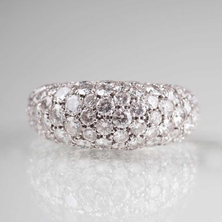 Fine, high-class diamond Ring. - photo 2