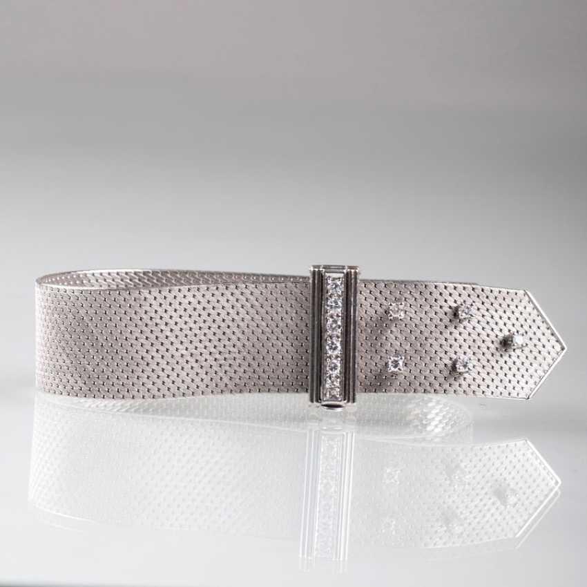 Bracelet buckles-optic with brilliant trim. - photo 1