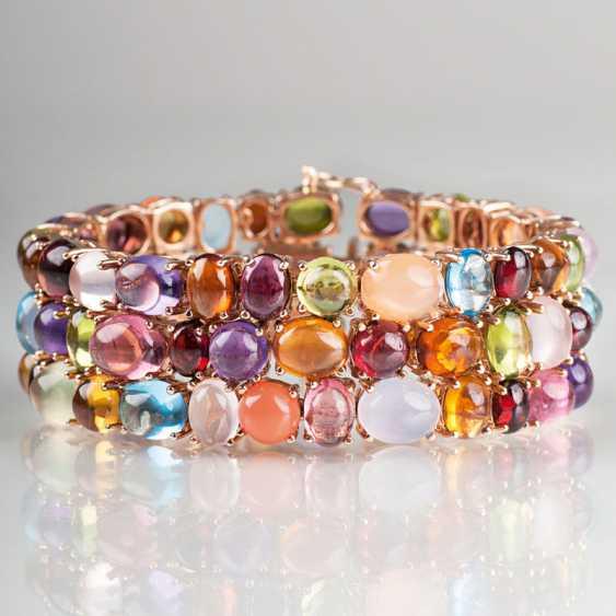 High-quality, modern color stone bracelet. - photo 1