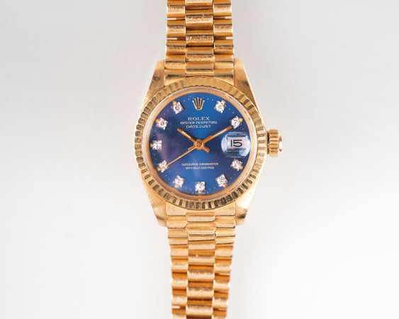 Damen-Armband 'Oyster Perpetual Datejust' mit Diamanten. Rolex - photo 1