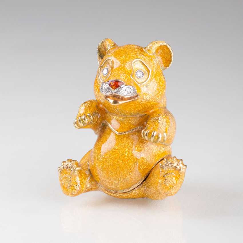 Miniature Gold Box 'Yellow Panda'. Pierino Frascarolo - photo 1