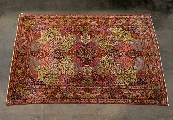 Excellent Oriental Rug. KESCHAN/PERSIA, around 1900, approx. 377x264 cm - photo 1