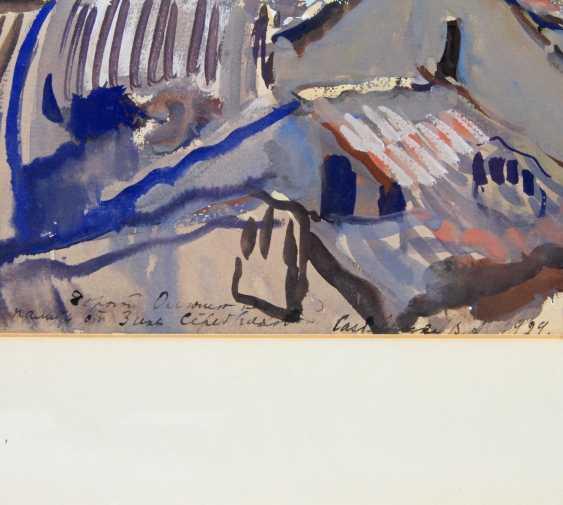 "SEREBRJAKOWA, SINAIDA JEWGENEWNA (Neskutschnoje bei Kharkov Paris 1884-1967), ""Castellano im Trentino"", - photo 4"