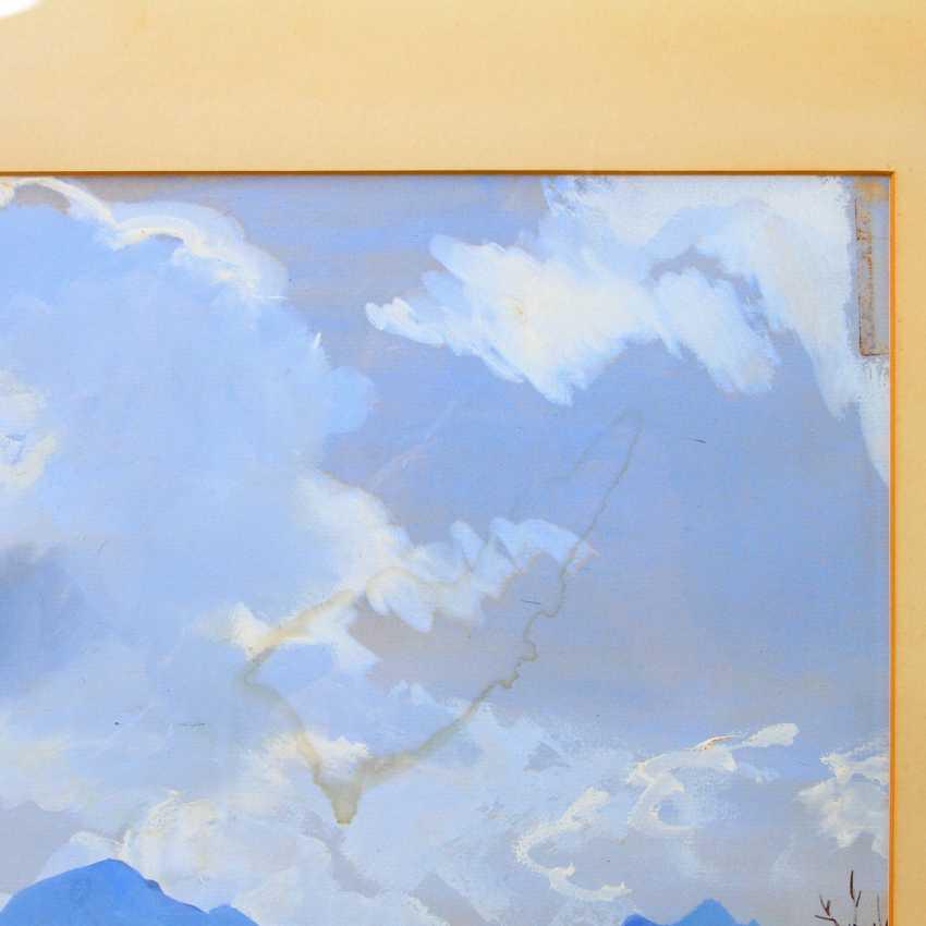 "SEREBRJAKOWA, SINAIDA JEWGENEWNA (Neskutschnoje bei Kharkov Paris 1884-1967), ""Castellano im Trentino"", - photo 3"