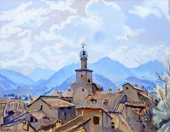 "SEREBRJAKOWA, SINAIDA JEWGENEWNA (Neskutschnoje bei Kharkov Paris 1884-1967), ""Castellano im Trentino"", - photo 1"