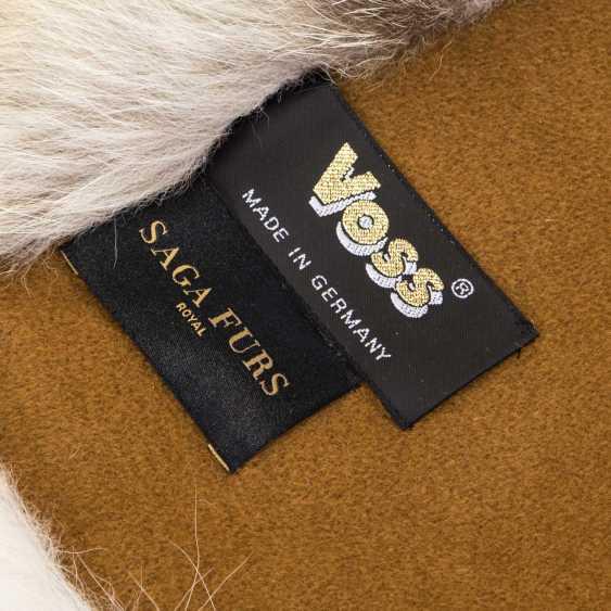 Fur blanket - photo 3