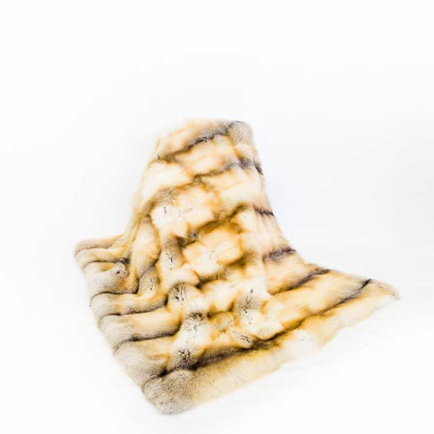 Fur blanket - photo 1