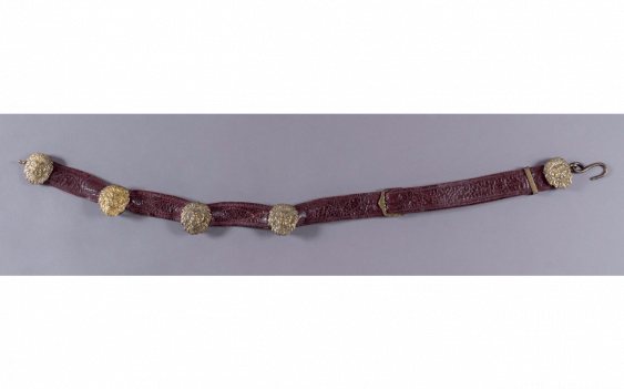 Belt of the officer of the hussar In morocco