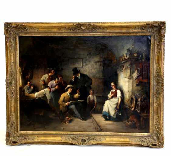 """KELLER, FRIEDRICH VON (Neckarweihingen 1840-1914 Abtsgmünd), """"the Pleasant model"""", - photo 2"""