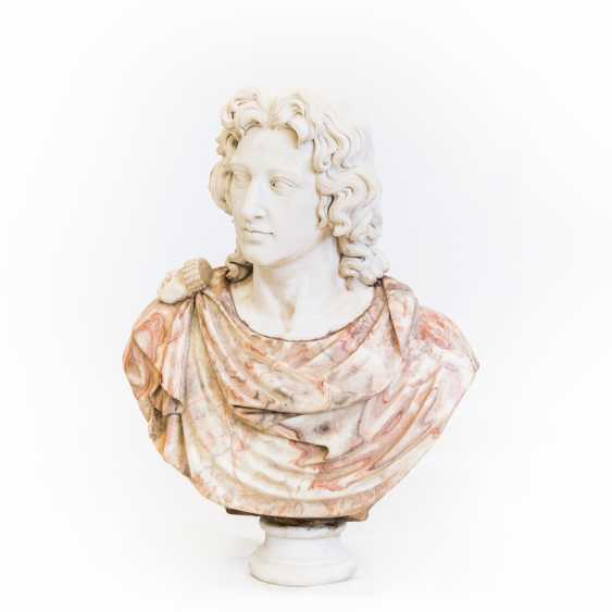 "Large BUST of ""ALEXANDER THE Great"" - photo 1"