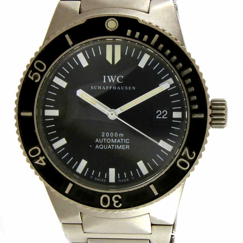 "IWC men's watch ""Aquatimer"", - photo 1"