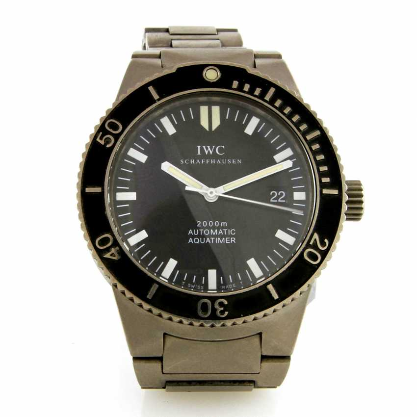 "IWC men's watch ""Aquatimer"", - photo 3"