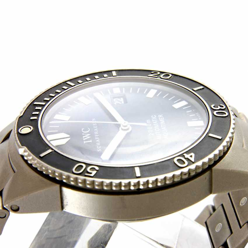 "IWC men's watch ""Aquatimer"", - photo 4"