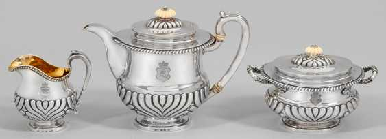 Historically important Biedermeier coffee service from the estate of Alexander Mikhailovich Rimsky-Korsakov (1753-1840), Governor-General of Lithuania - photo 1