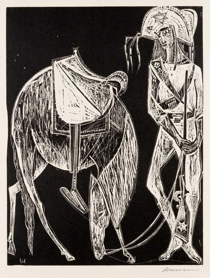 Abstract Composition Karl Heinz Krug 1915-1967 Paintings