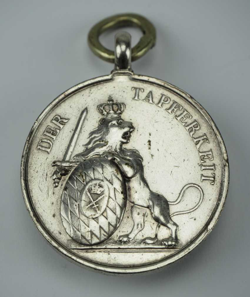 Bavaria: Medalbar of a brave frontline soldiers of the wars of 1866 and 1870/71. - photo 4