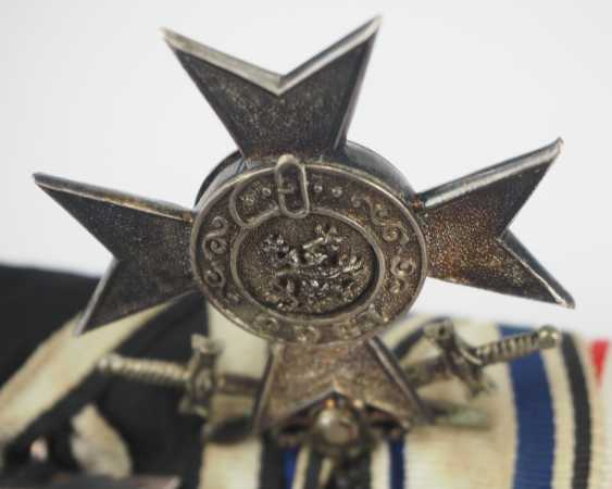 Bavaria: Great medalbar of a decorated colonial soldiers. - photo 3