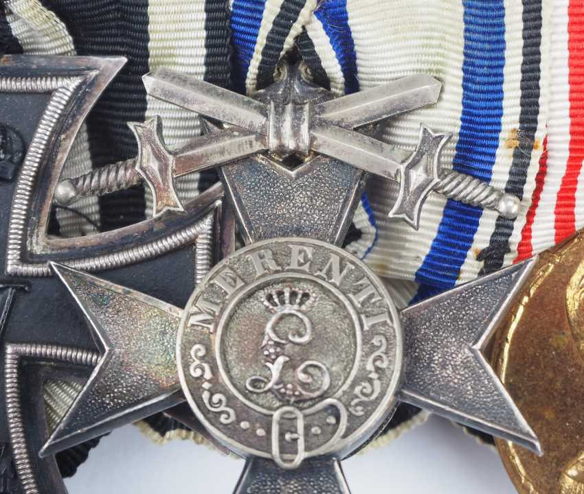 Bavaria: Great medalbar of a decorated colonial soldiers. - photo 4