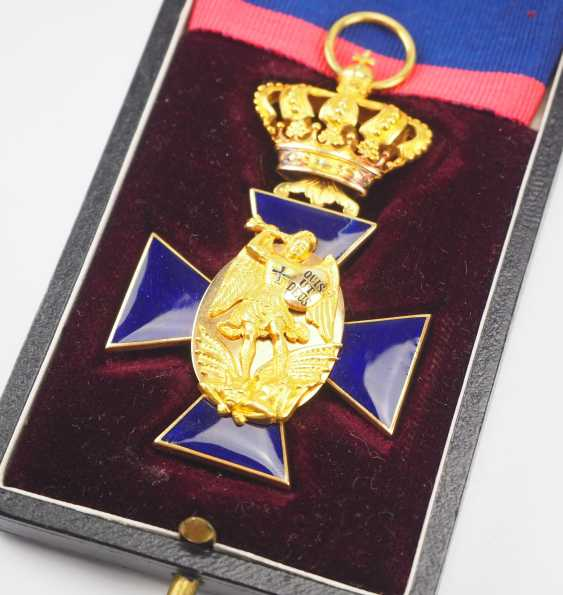 Bavaria: order of merit of the hl. Michael, 3. Class, in a case. - photo 3