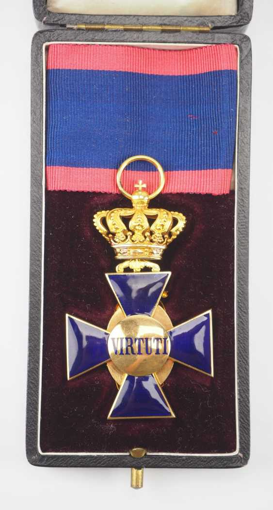 Bavaria: order of merit of the hl. Michael, 3. Class, in a case. - photo 4
