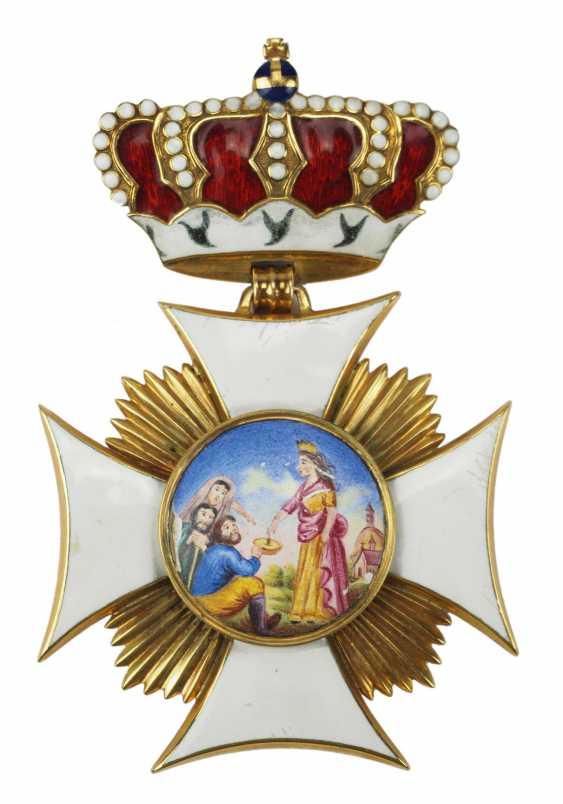 Bavaria: St. ELISA bethen-order, Large Dekoratin of the order of-Secretary-and -Treasurer - Museum of making. - photo 1