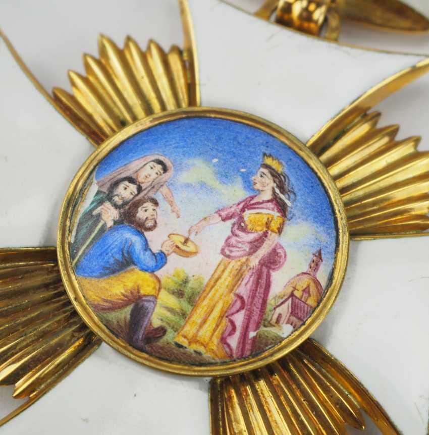 Bavaria: St. ELISA bethen-order, Large Dekoratin of the order of-Secretary-and -Treasurer - Museum of making. - photo 2