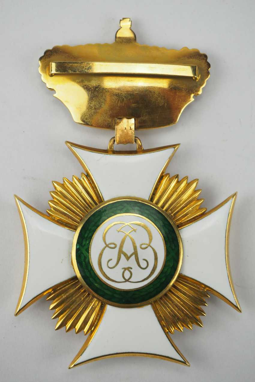 Bavaria: St. ELISA bethen-order, Large Dekoratin of the order of-Secretary-and -Treasurer - Museum of making. - photo 3