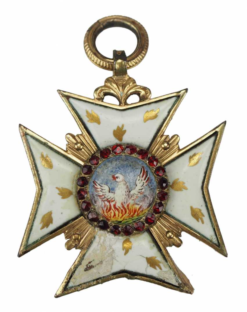 Hohenlohe: house order of the Golden flame. - photo 1