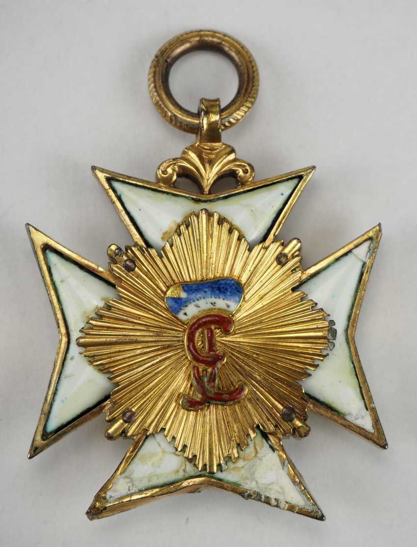 Hohenlohe: house order of the Golden flame. - photo 4