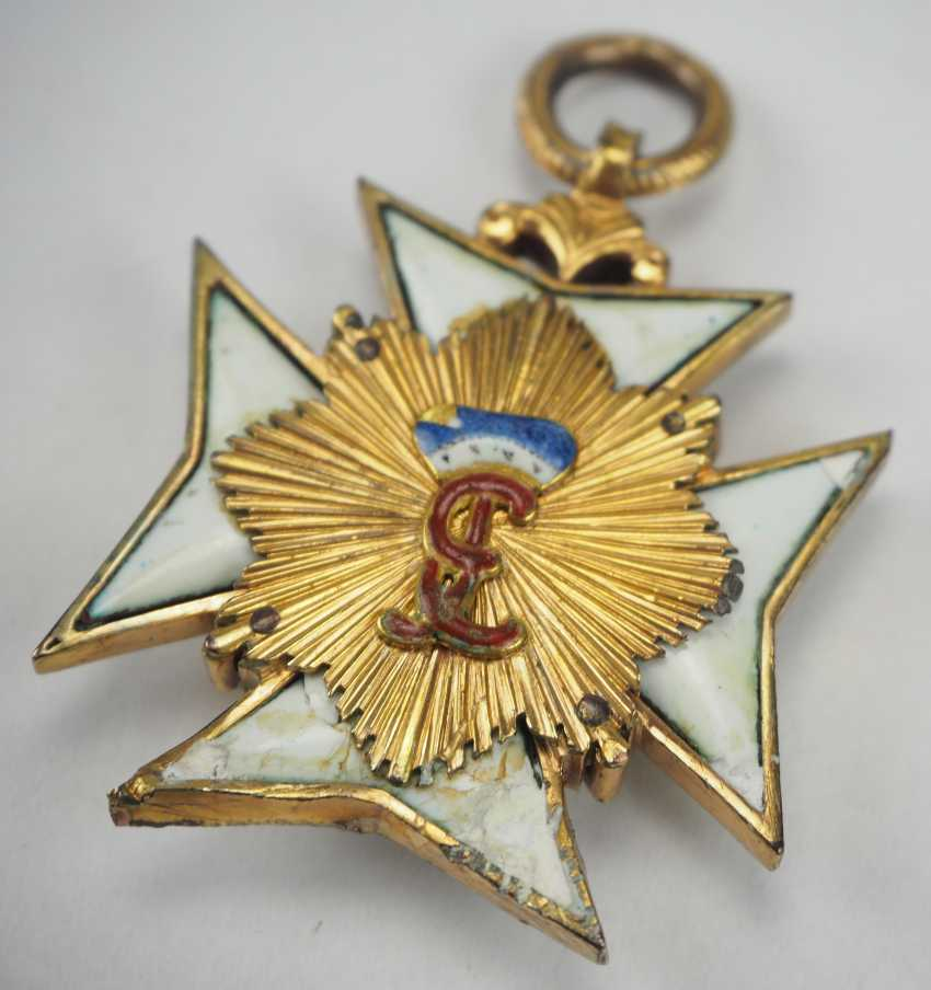 Hohenlohe: house order of the Golden flame. - photo 5