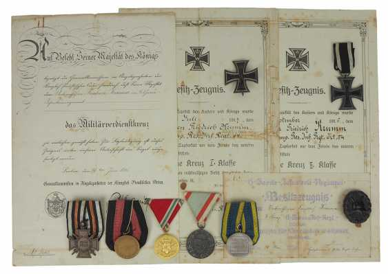 Prussia: estade of a non-commissioned officer in the 6. Guard infantry Regiment with a military cross of merit. - photo 2