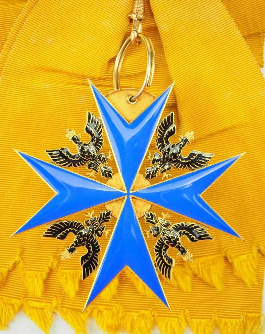 Prussia: High-order of the Black eagle, gem. - photo 2