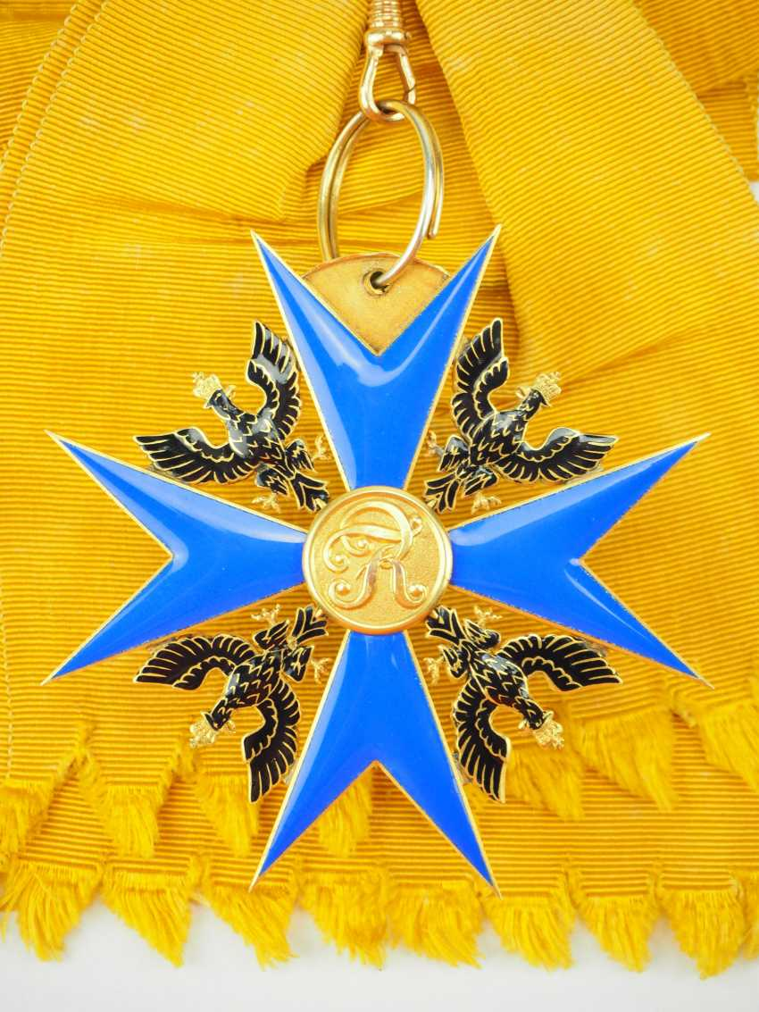 Prussia: High-order of the Black eagle, gem. - photo 3