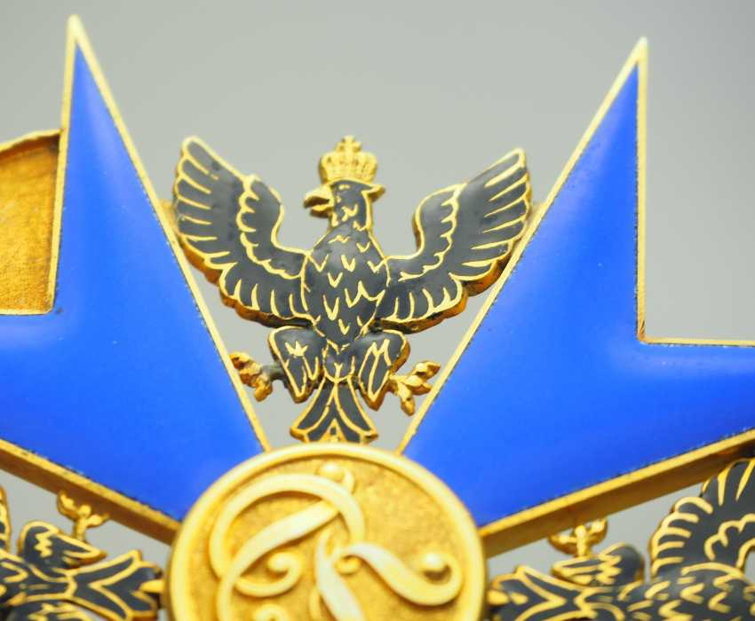 Prussia: High-order of the Black eagle, gem. - photo 5