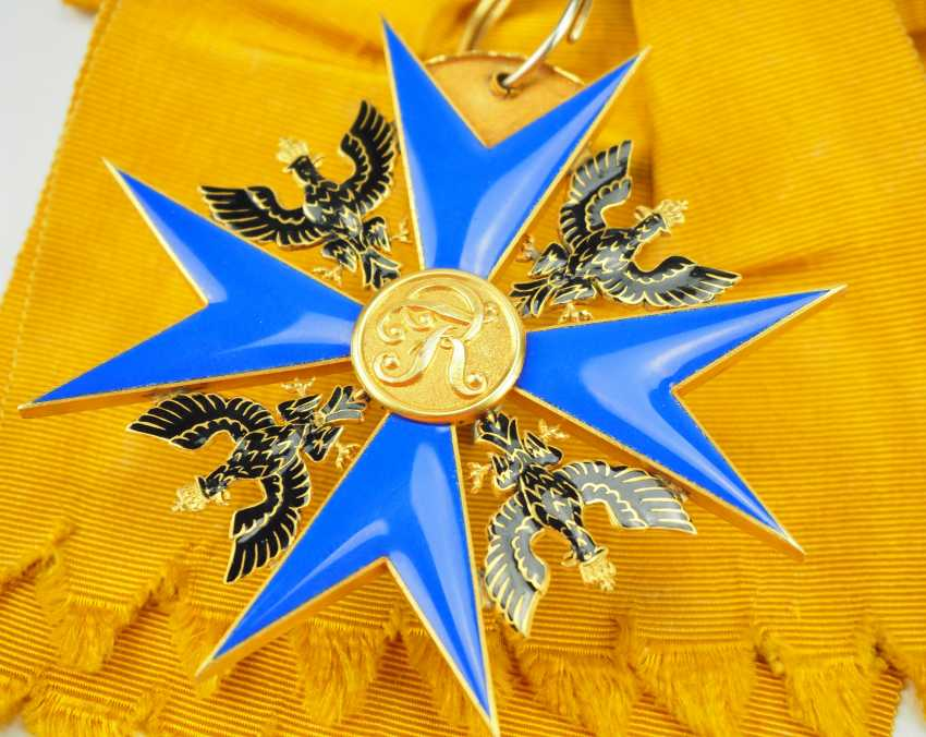 Prussia: High-order of the Black eagle, gem. - photo 7