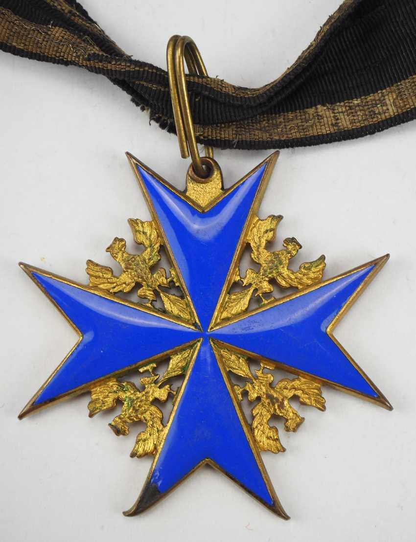 Prussia: order Pour le Mérite for military merits - wear piece. - photo 3