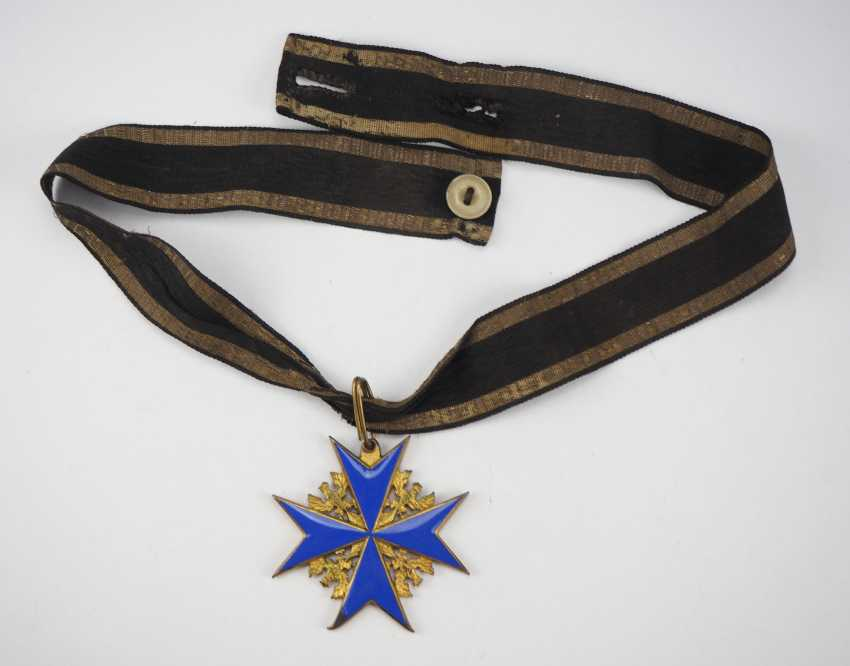 Prussia: order Pour le Mérite for military merits - wear piece. - photo 4