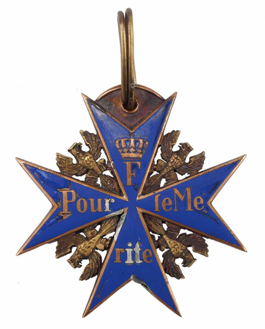 Prussia: order Pour le Mérite for Military merits. - photo 1