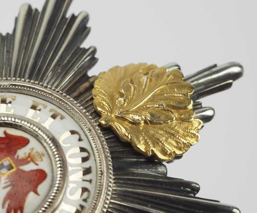 Prussia: Red Eagle Order, 4. Model (1885-1918), 1. Class, star with oak leaves. - photo 3