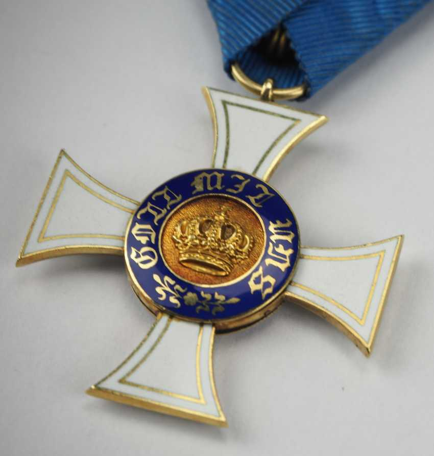 Prussia: Crown Order, 2. Model (1864-1871), 3. Class. - photo 2