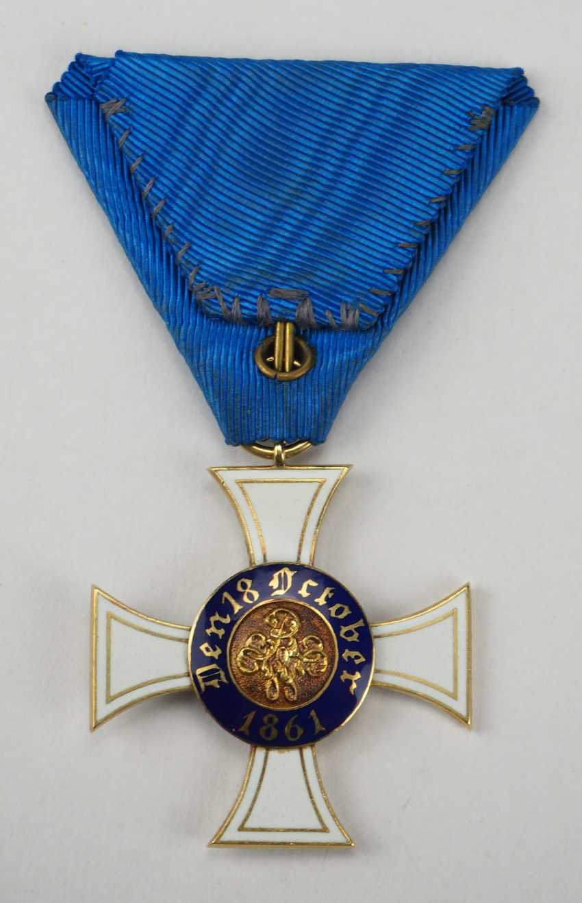 Prussia: Crown Order, 2. Model (1864-1871), 3. Class. - photo 3