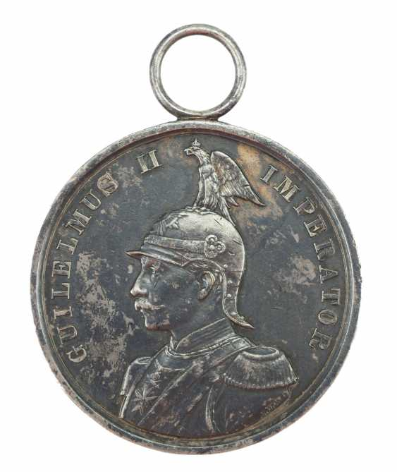 Prussia: War Merit Medal, 1. Class, in silver. - photo 1