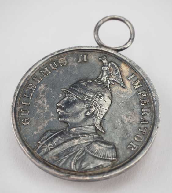 Prussia: War Merit Medal, 1. Class, in silver. - photo 2