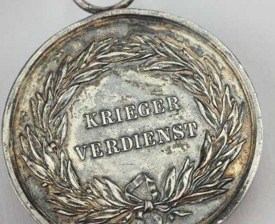Prussia: War Merit Medal, 1. Class, in silver. - photo 5