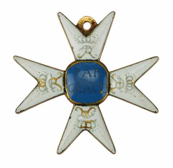 Prussia: noble lady pen to the Holy sepulchre, in the province of Brandenburg, the order of the characters, 1. Form, 1. Type. - photo 1