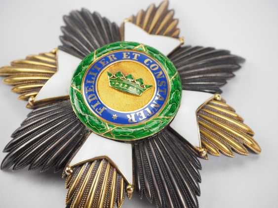 Saxon Duchies: Saxony Ernesti Against The Orders Of The House, 2. Model (1864-1935), Grand Cross Star. - photo 2